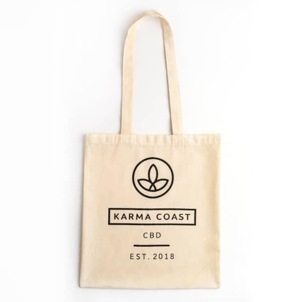 Karma Tote Bag Front
