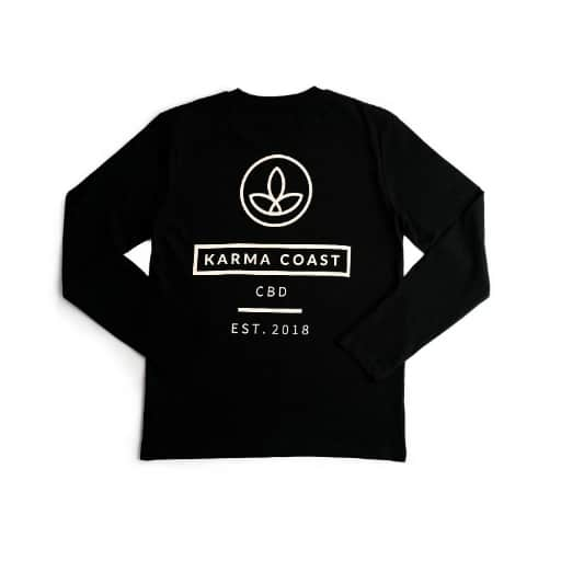 Karma T Black Back Long