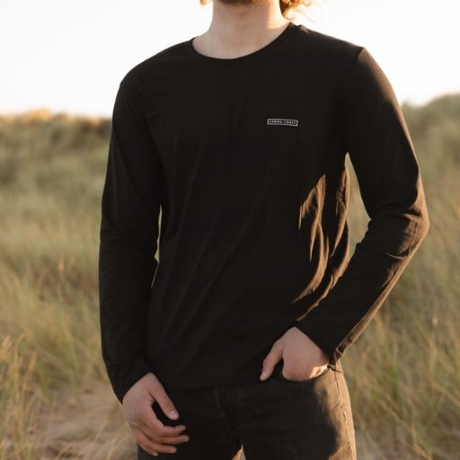 long sleeve beach shot