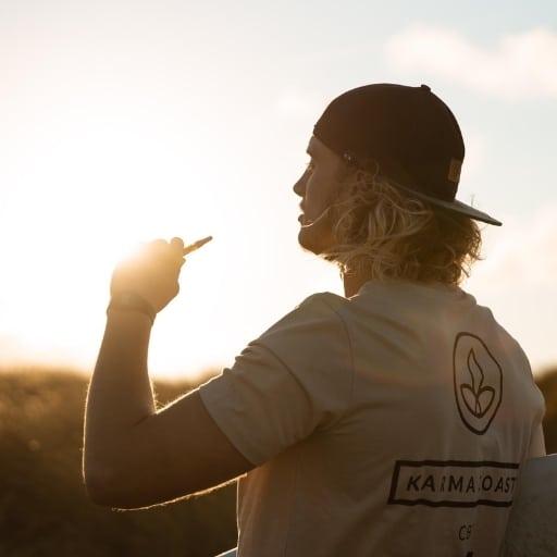 surf t shirt shot